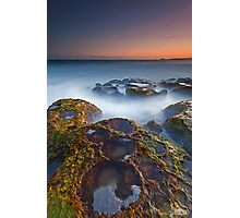 Craters at Boomer Beach Photographic Print