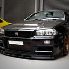 King of the road - R34 GTR  by CivicWeapon