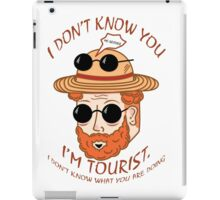 I'm Tourist iPad Case/Skin
