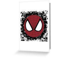 Spider Splatter Greeting Card