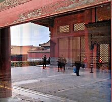 Reflection, Forbidden City, Beijing, China by DaveLambert