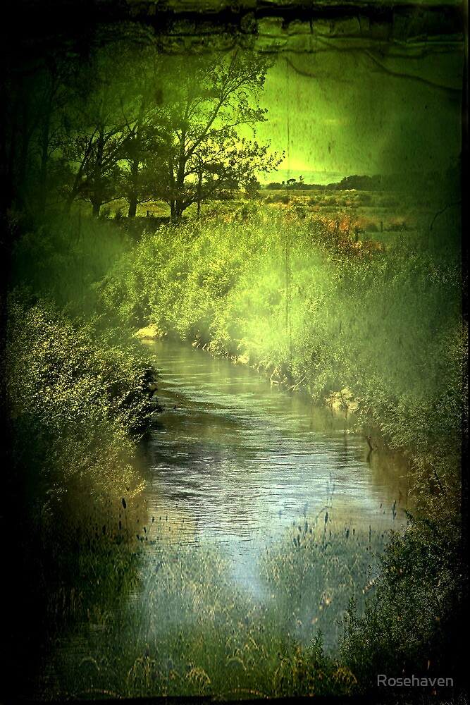 """""""Drifting the Stream..."""" by Rosehaven"""