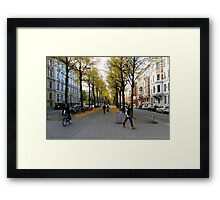 Another Streetview, Gothenburg Framed Print