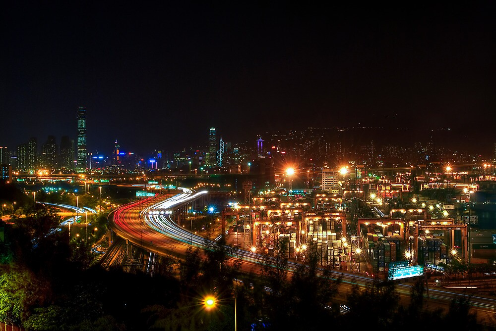 Lai Chi Kok Container Terminal - HDR by HKart