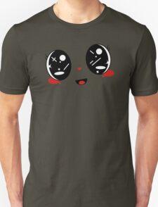 cute Kawaii face Belly band T-Shirt