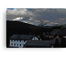 Pontresina Switzerland Canvas Print