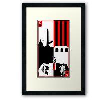 President Underwood Framed Print