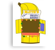Banana Stand Canvas Print