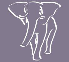 ELEPHANT WALK BLACK Kids Tee