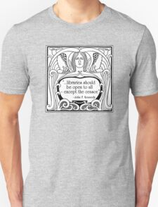 JFK Quote About Libraries T-Shirt