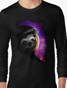 ASTROSLOTH 2015 - CHOOSE BLACK Long Sleeve T-Shirt