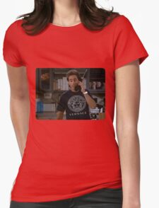 The timeless art of seduction Womens Fitted T-Shirt