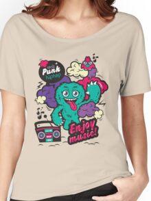 LOVE MUSIC Women's Relaxed Fit T-Shirt