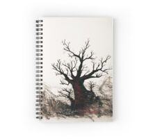 Cherry Blossoms on the Edge Spiral Notebook