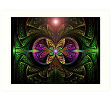 The Green Lantern  (UF0250) Art Print