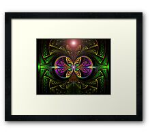 The Green Lantern  (UF0250) Framed Print