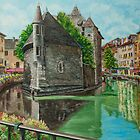 Annecy - The Venice of France by Charlotte  Blanchard