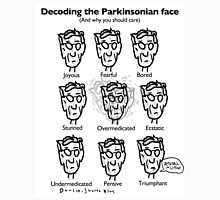 Decoding the Parkinsonian Face T-Shirt