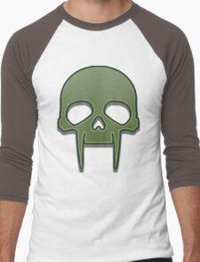 Guild Wars 2 Inspired Necromancer logo Men's Baseball ¾ T-Shirt
