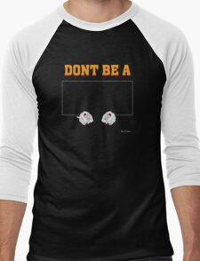 Don't Be a Square / Mia Wallace Men's Baseball ¾ T-Shirt