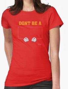 Don't Be a Square / Mia Wallace Womens Fitted T-Shirt