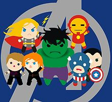 Avengers Assemble (hidden Loki) by momothistle