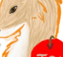 Foxy Moriarty Sticker