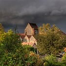 Sun Between the Showers - St Katherine's Shorne by brianfuller75