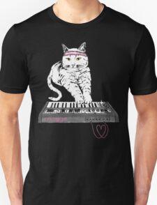 Synth Cat - Moggie Unisex T-Shirt
