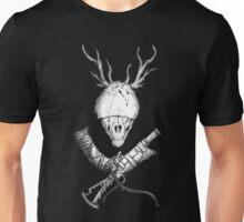 Bloodborne CrossWeapons(white) Unisex T-Shirt