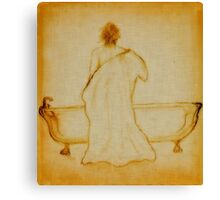 After the Bath Canvas Print