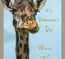 It's Valentine's Day. Wanna neck? by Owed To Nature