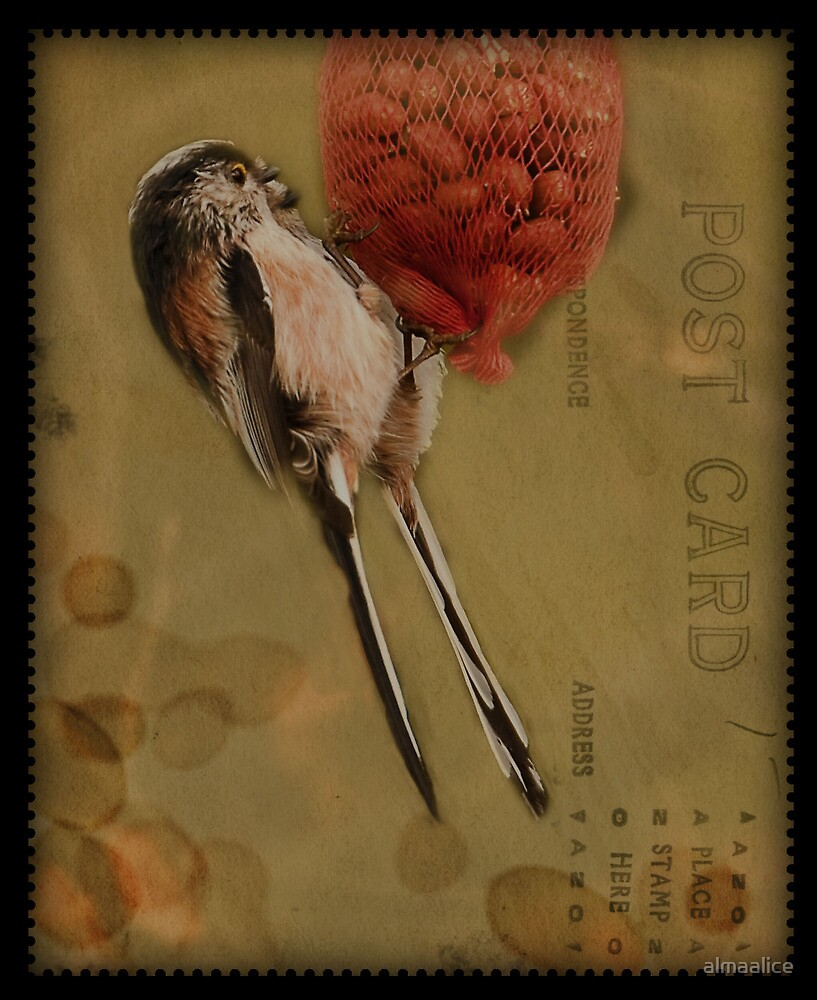 Postage stamp by almaalice
