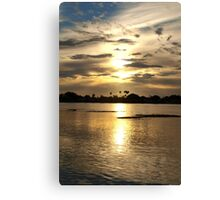 Shining waters Canvas Print