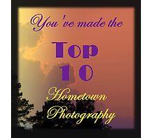 Top 10 Challenge Winner Banner Photographic Print