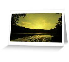 Lake SIngrauli Greeting Card