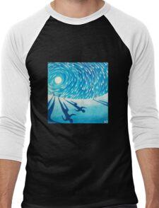 The Chase - Fine Art Painting Men's Baseball ¾ T-Shirt