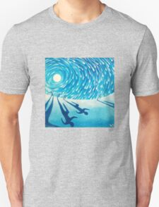 The Chase - Fine Art Painting Unisex T-Shirt