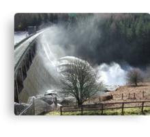 Feel The Force - Laggan Dam, Scotland Canvas Print