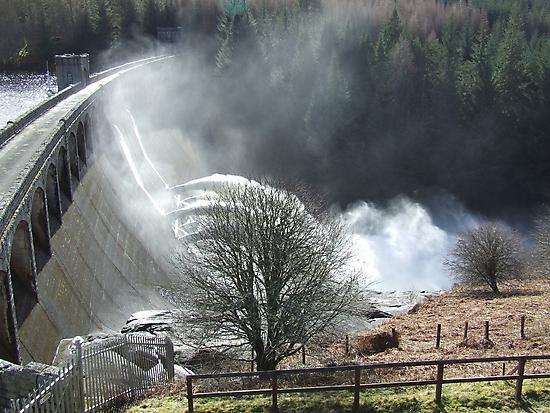 Feel The Force - Laggan Dam, Scotland by dawnandchris