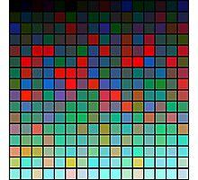 Color Grid 01 Photographic Print