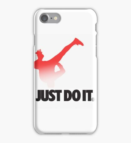 Shia LaBeouf Stretching Nike iPhone Case/Skin