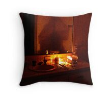 A TIME TO RELAX Throw Pillow