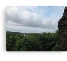 The View From Blarney Castle Canvas Print