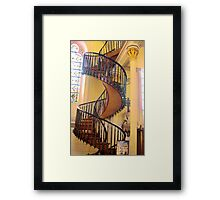 The Miraculous Stairway Framed Print