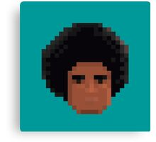 Afro Pixel Canvas Print