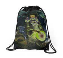 Eye of the Storm Drawstring Bag