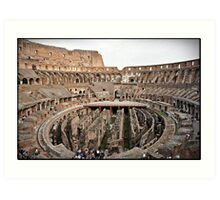 ROME - Colosseum at daylight # 2 - October 10th 2010 - Art Print