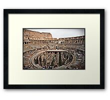 ROME - Colosseum at daylight # 2 - October 10th 2010 - Framed Print