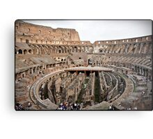 ROME - Colosseum at daylight # 2 - October 10th 2010 - Metal Print